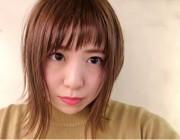前髪カットでイメージチェンジ@yasumaru